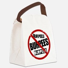 No Burpees Canvas Lunch Bag