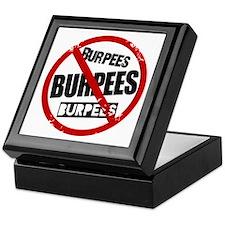 No Burpees Keepsake Box