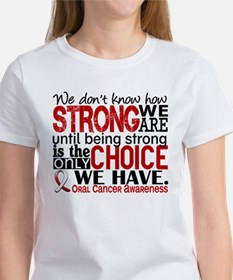 Oral Cancer HowStrongWeAre Tee