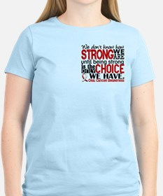 Oral Cancer HowStrongWeAre T-Shirt