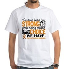 Multiple Sclerosis HowStrongWeAre Shirt