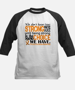 Multiple Sclerosis HowStrongW Kids Baseball Jersey