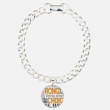 Multiple Sclerosis HowSt Charm Bracelet, One Charm