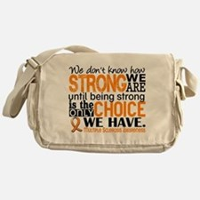 Multiple Sclerosis HowStrongWeAre Messenger Bag
