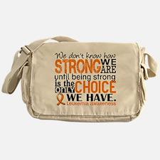 Leukemia HowStrongWeAre Messenger Bag