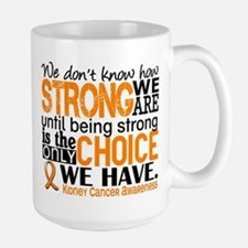 Kidney Cancer HowStrongWeAre (Orange) Mug