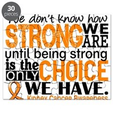 Kidney Cancer HowStrongWeAre (Orange) Puzzle