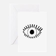 Tribal Eye Greeting Cards (pk Of 20)