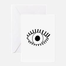 Tribal Eye Greeting Card