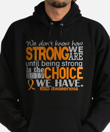 RSD How Strong We Are Hoodie (dark)