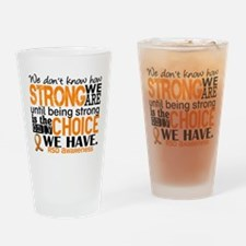 RSD How Strong We Are Drinking Glass