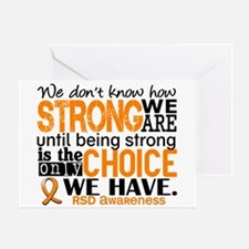 RSD How Strong We Are Greeting Card