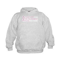 Daughter Carol (wear pink) Hoodie