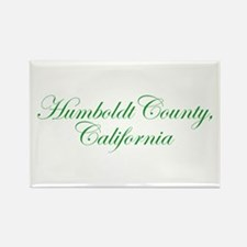 Humboldt County, CA Rectangle Magnet