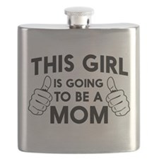 This girl is going to be a mom Flask