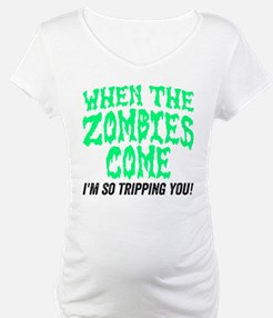 When The Zombies Come Shirt
