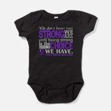 CF HowStrongWeAre Baby Bodysuit