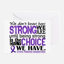 CF HowStrongWeAre Greeting Card