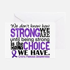 CF HowStrongWeAre Greeting Cards (Pk of 20)