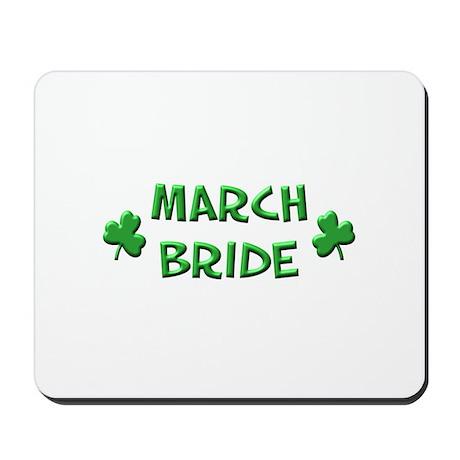 March Bride Mousepad