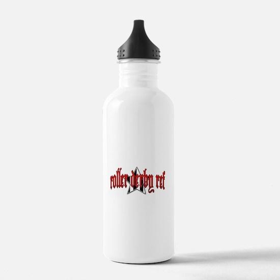 Roller Derby Ref Water Bottle