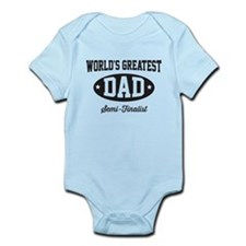 World's greatest dad semi-finalist Body Suit