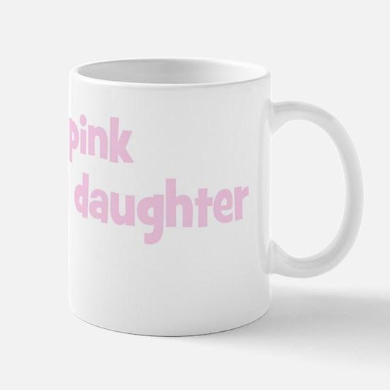 Daughter Aileen (wear pink) Mug
