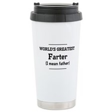 World's greatest farter Travel Mug