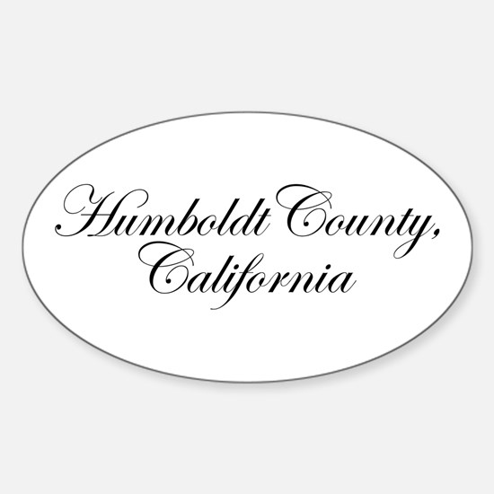 Hillbilly Deluxe Humboldt Oval Decal