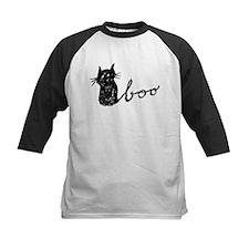 Boo Cat for Halloween Baseball Jersey