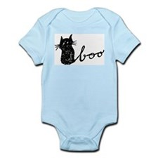 Boo Cat for Halloween Body Suit
