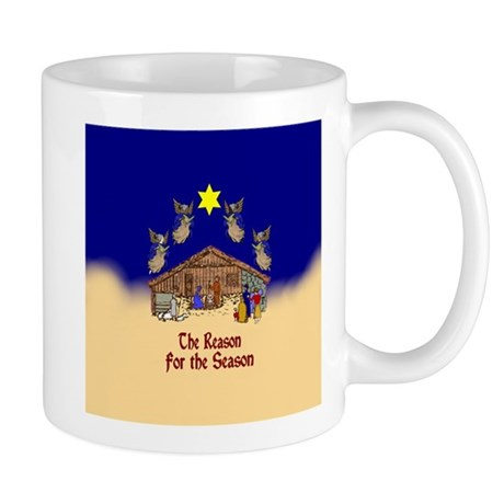 Nativity Scene Right Mug