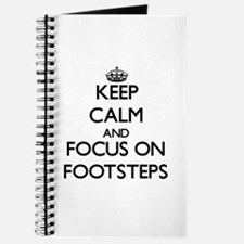 Funny Footprints sand Journal