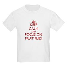 Keep Calm and focus on Fruit Flies T-Shirt