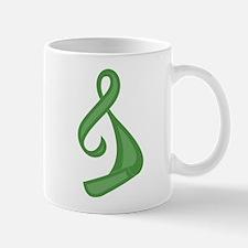 """""""Green Ribbon Twist"""" Mug"""