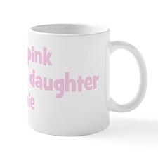 Daughter Stephanie (wear pink Mug