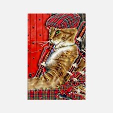 Cute Tartan terrors bagpipes celtic music comedy Rectangle Magnet