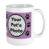 Dog mom Large Mugs (15 oz)