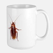 Funny Cockroach Large Mug Mugs