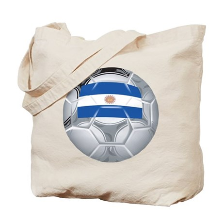 Argentina Football Tote Bag