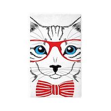 Stylish Cat 3'x5' Area Rug