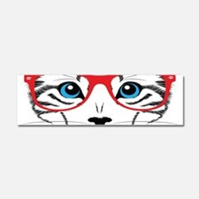 Stylish Cat Car Magnet 10 x 3