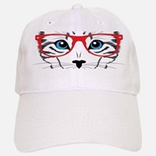 Stylish Cat Baseball Baseball Baseball Cap