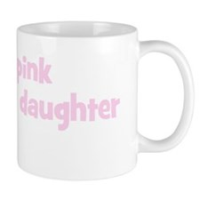 Daughter Jenifer (wear pink) Mug