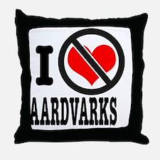 Cool Antilove Throw Pillow