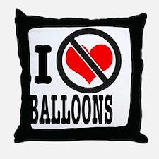 Funny Antilove Throw Pillow