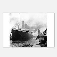 Unique Titanic Postcards (Package of 8)
