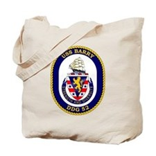 USS Barry DDG-52 Tote Bag