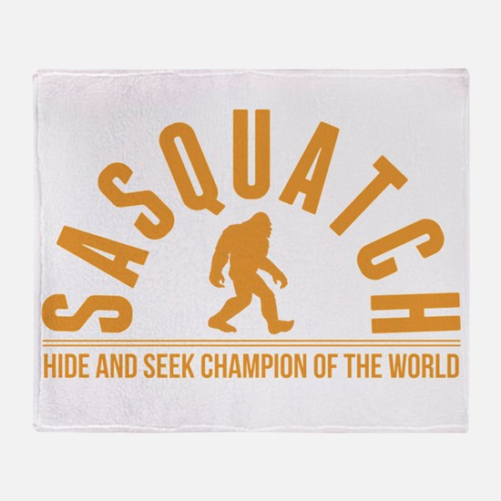 Orange Sasquatch Hide And Seek Champion Of The Wor