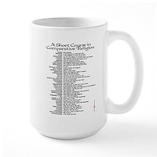 Comparative Religion Mug